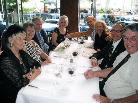 Pat Touchie, Beth Bruder, Kirk Howard, Linda Cameron, Grant Lovig, Frieda Lovig, Alvin Schrader, Rodger Touchie