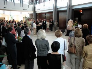 A good turnout at the Lois Hole Speaks launch at Telus Centre