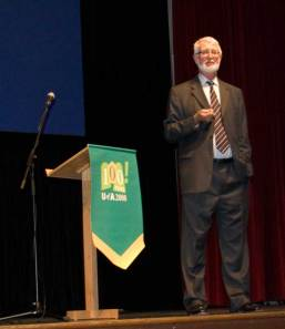 Rod Macleod, author of All True Things, was the keynote speaker for the Western Canadian History Lecture.