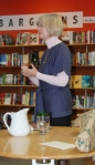 Alice Major at the Memory's Daughter launch at Greenwoods Bookshoppe