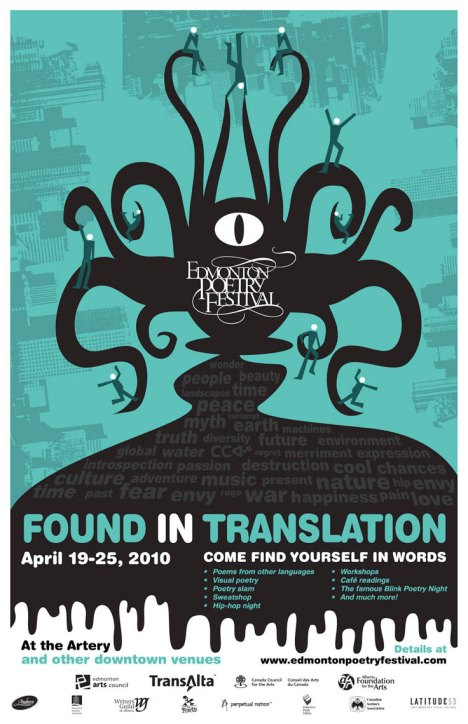 2010 Edmonton Poetry Festival - Found in Translation