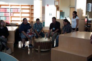 Thundering Spirit Cultural Society performs an Honour Song