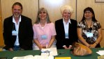 Arok Wolvengrey, Naomi McIlwraith, Patricia Demers, and Dorothy Thunder