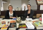 Our bookselling volunteers and friends, part of an amazing crew of LitFest volunteers