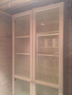 Shelf in basement